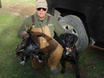 Gaddy's first Retrieves in North Dakota